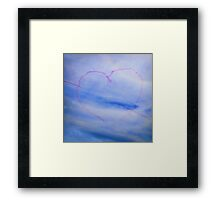 With Love From Lyme xx Framed Print