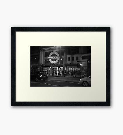 brixton Framed Print