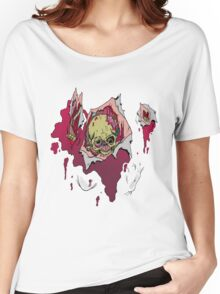 Zombie coming through Women's Relaxed Fit T-Shirt