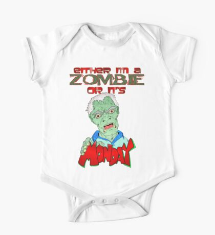 Monday Zombie One Piece - Short Sleeve
