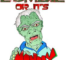 Monday Zombie by Skree