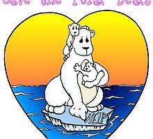 Save the Polar Bears by Skree