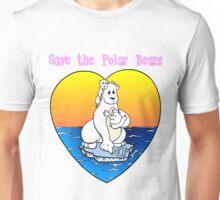 Save the Polar Bears Unisex T-Shirt