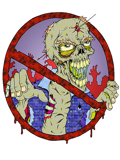 No Zombies by Skree