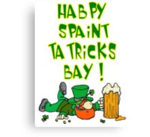Happy St. Patricks Day Canvas Print