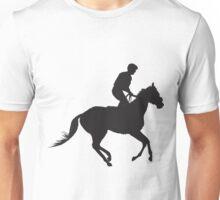 Jockey Silhouette Unisex T-Shirt