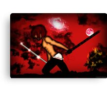 Warrior Bam Canvas Print
