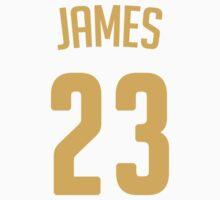 LeBron James #23 Kids Clothes
