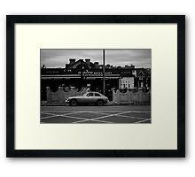 car Framed Print