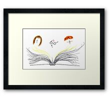 Book to Life Framed Print
