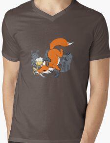Bad Fox Mens V-Neck T-Shirt