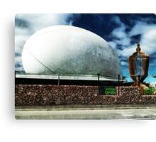 The Town Ball is Now Open Canvas Print