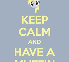 Keep Calm and Have a Muffin by ForeverDarkrai