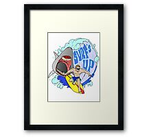 Surfs Up Framed Print