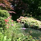 English Country Garden - Exbury by Mike HobsoN