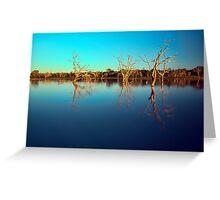 Dawn Races - Lake Pinaroo NSW Greeting Card