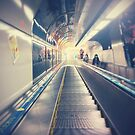 Tokyo Escalator by TalBright