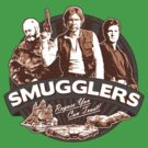 Smugglers Three (Solid Warm) by Digital Phoenix Design