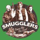 Smugglers Three (Solid Warm) by Digital Phoenix Design