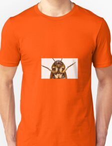 Smiling ironman cockroach hero. Something weird that looks GREAT on a sticker/tshirt/ mugs (!) T-Shirt