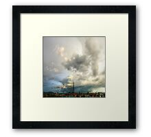 ©HCS Move On Clouds II Framed Print