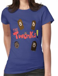 Twonks Podcast Shirt Womens Fitted T-Shirt