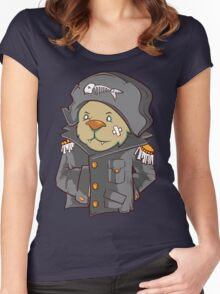 Captain Cat Women's Fitted Scoop T-Shirt
