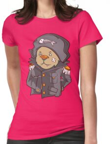 Captain Cat Womens Fitted T-Shirt