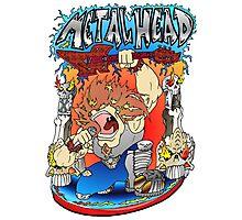 Metal Head Photographic Print