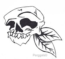 skull apple by Perggals© - Stacey Turner