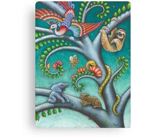Tree o Life triptych - panel 2 Canvas Print