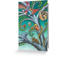Tree o Life triptych - panel 2 Greeting Card