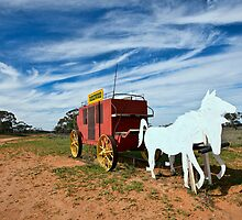 Outback Mailbox by Malcolm Katon