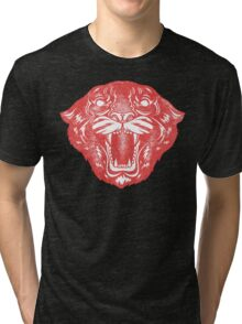 Red Panther Tri-blend T-Shirt