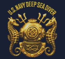 U.S. Navy Deep Sea Diver (sm) by Walter Colvin