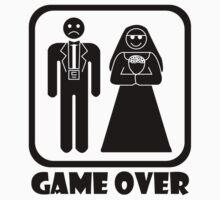 Game Over Wedding Kids Tee