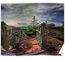 Shipwreck at Neys Provincial Park No.23 Poster