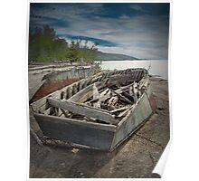 Shipwreck at Neys Provincial Park  No. 1737 Poster