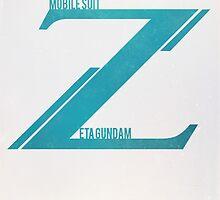Zeta Gundam by almn