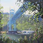St Johns Bridge by Karen Ilari
