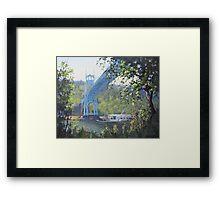 St Johns Bridge Framed Print