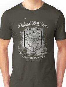 Defend Wall Sina! Unisex T-Shirt