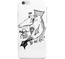Big Nosed Trout iPhone Case/Skin