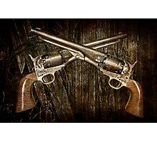 A Brace of Navy Colt Revolvers Photographic Print