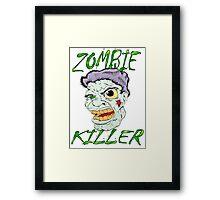 Zombie Killer Framed Print