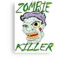 Zombie Killer Canvas Print