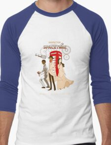 Inspector Spacetime II Men's Baseball ¾ T-Shirt