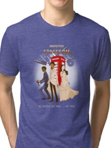 Inspector Spacetime II Tri-blend T-Shirt