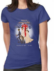 Inspector Spacetime II Womens Fitted T-Shirt