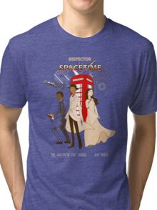 Inspector Spacetime Tri-blend T-Shirt